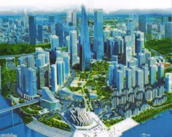 重庆江北城中央商务区(CBD)道路新建工程