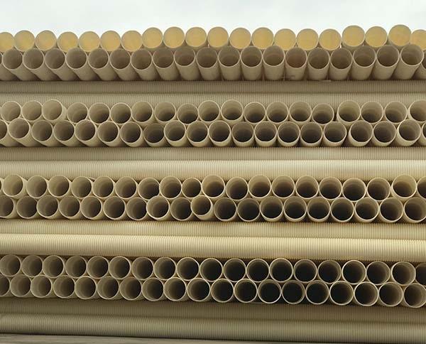 黔东南PVC波纹管(白)