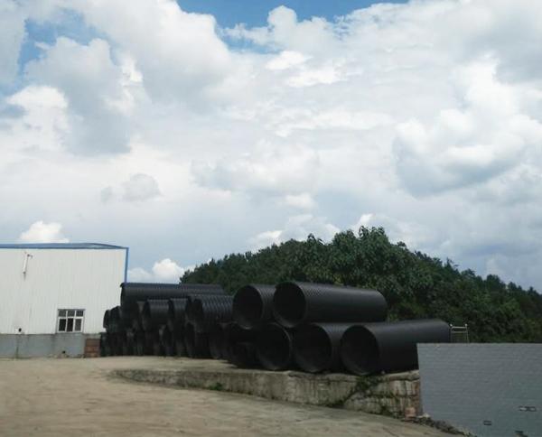 贵州HDPE钢带增强螺旋双壁波纹管