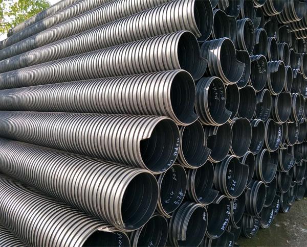 黔东南HDMP高密度双波钢带增强复合管